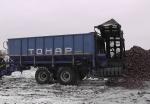 Прицеп тракторный бункер-перегрузчик ПТ-4
